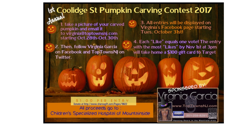 Coolidge St. Pumpkin Carving Contest