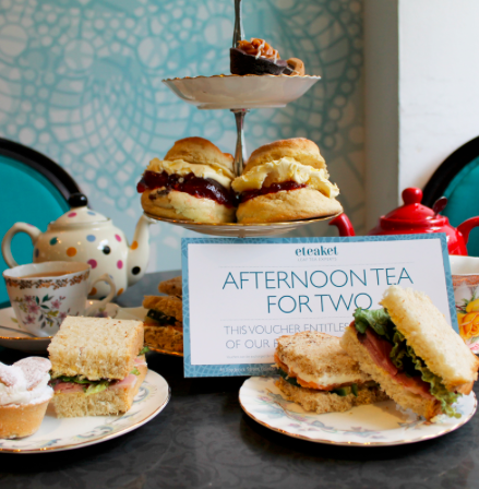 Afternoon Tea for 2 (x2) & supplementary pressies