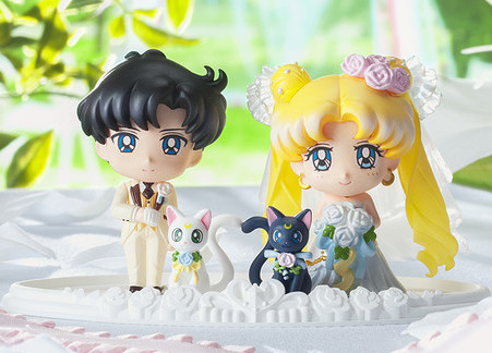 Usagi & Mamoru Happy Wedding Petit Chara