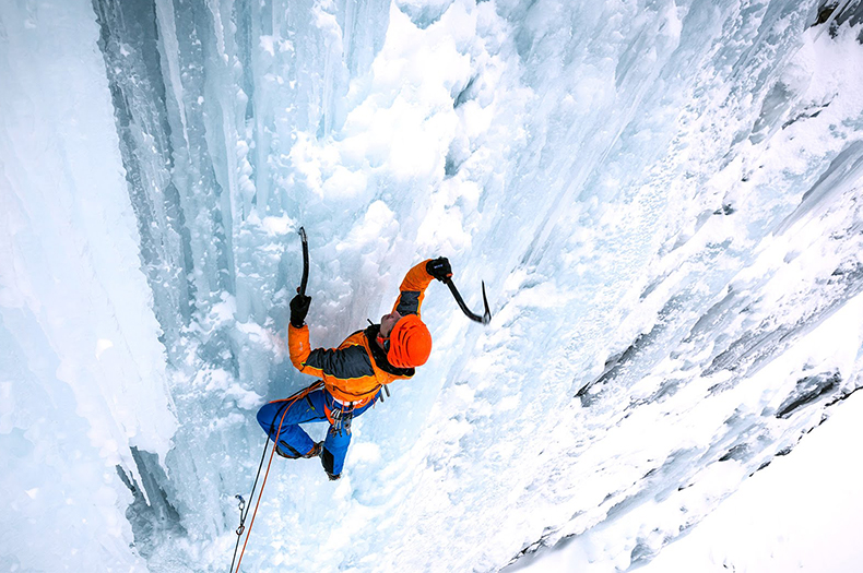 Jaakko's Ice Climbing Adventure!